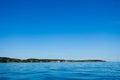 Island fort Christiansoe Bornholm Baltic Sea Denma Royalty Free Stock Photo