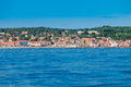 Island fort Christiansoe Bornholm Baltic Sea Denmark Scandinavia Europe Royalty Free Stock Photo
