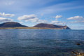 Island of hoy orkney seen from the western coast the mainland Stock Photo