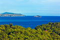 Island Lokrum Royalty Free Stock Photos