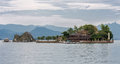 Island in Paraty Bay Stock Photography