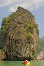 Island, Phang Nga, Thailand Stock Images