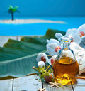Island retreat spa treatment Royalty Free Stock Photo