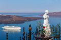 Island of Santorini, Greece Royalty Free Stock Photo