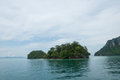 Island tropical andaman sea krabi province thailand view beach Royalty Free Stock Images