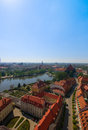 Island Tumski in Wroclaw, Poland Royalty Free Stock Photo