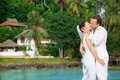 Island wedding Royalty Free Stock Photos