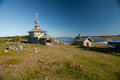 Island Zayatsky, Solovki Royalty Free Stock Photo