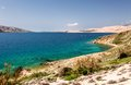 Islands in croatia cape and nature vacations background Royalty Free Stock Photo