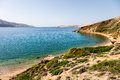 Islands in croatia cape and nature vacations background Stock Images