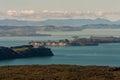 Islands in hauraki gulf new zealand Stock Photo