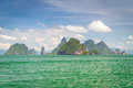 Islands of Phang Nga National Park Stock Photography