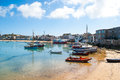 Isles of scilly st mary s the Royalty Free Stock Images
