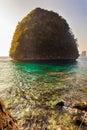 Islet in Maya Bay Royalty Free Stock Photo