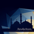 Islmic mosque with abstract background vector islamc Stock Photos