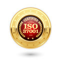 ISO 37001 certified medal - Anti bribery management