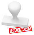 Iso d generated picture of an stamp Royalty Free Stock Photo