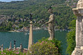 Isola bella on the lago maggiore in italy beautiful view Stock Images
