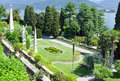 Isola bella on the lago maggiore in italy detail of sculptores of Royalty Free Stock Photo