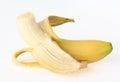 Isolated banana  Royalty Free Stock Image