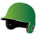 Isolated baseball helm