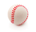 Isolated baseball on a white background Stock Photo
