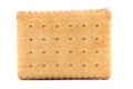 Isolated biscuit. Royalty Free Stock Photo