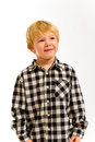 Isolated Boy Portraits Royalty Free Stock Photography