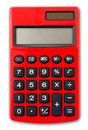 Isolated Calculator Royalty Free Stock Photo