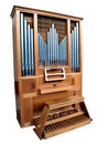 Isolated Church Organ Stock Images