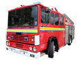 Isolated Fire Engine
