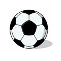 Isolated Football ball Illustration Royalty Free Stock Image