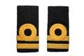 Isolated lieutenant navy rank sign Royalty Free Stock Photography