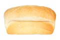 Isolated loaf of bread white on a white background Stock Image