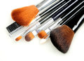 Isolated makeup brush Royalty Free Stock Photo