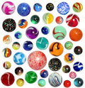Isolated Marbles Royalty Free Stock Photo