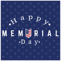 Isolated memorial day background