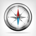 Isolated Metallic Compass Obje...