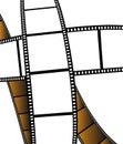 Isolated movie/photo film Royalty Free Stock Photo
