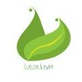 Isolated nature logo