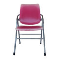 Isolated the old red chair overwhite backgroung clipping path Stock Photos