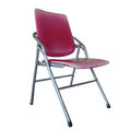 Isolated the old red chair overwhite backgroung clipping path Royalty Free Stock Photography