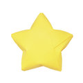 Isolated origami star yellow on the white background Stock Photo