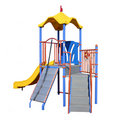 Isolated play equipment Royalty Free Stock Photo