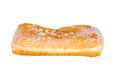 Isolated sugar donut Royalty Free Stock Photography