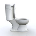 Isolated toilet Royalty Free Stock Photo