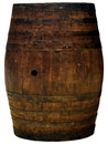 Isolerat trä för trumma utklipp Royaltyfri Bild