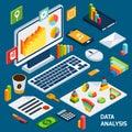 Isometric data analysis set