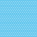 Isometric grid white on a blue background.