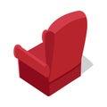 Isometric Home Armchair